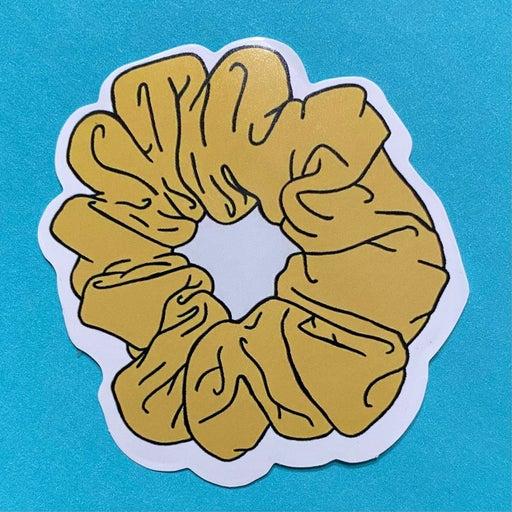 Scrunchy Sticker