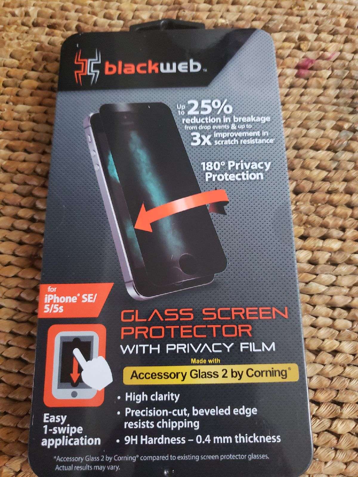 Glass screen iPhone SE/5/5s