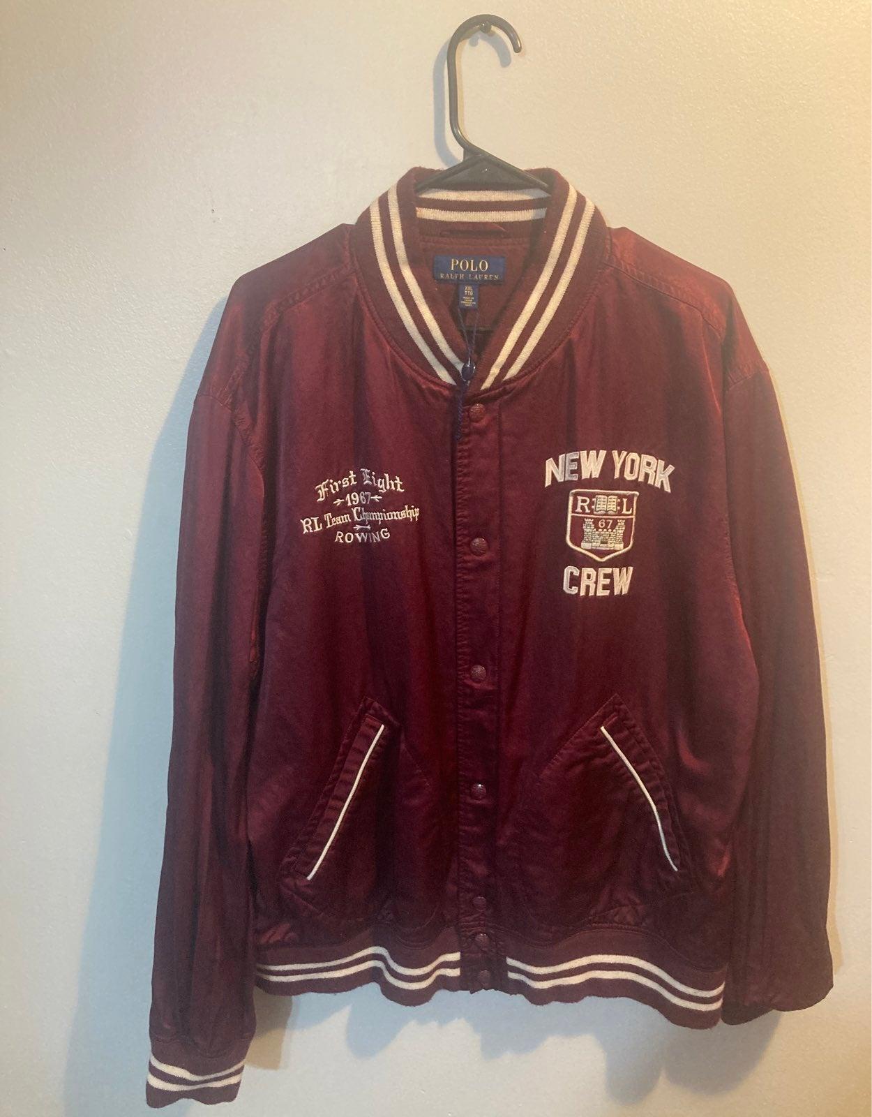 Ralph Lauren new york crew jacket $85 xx