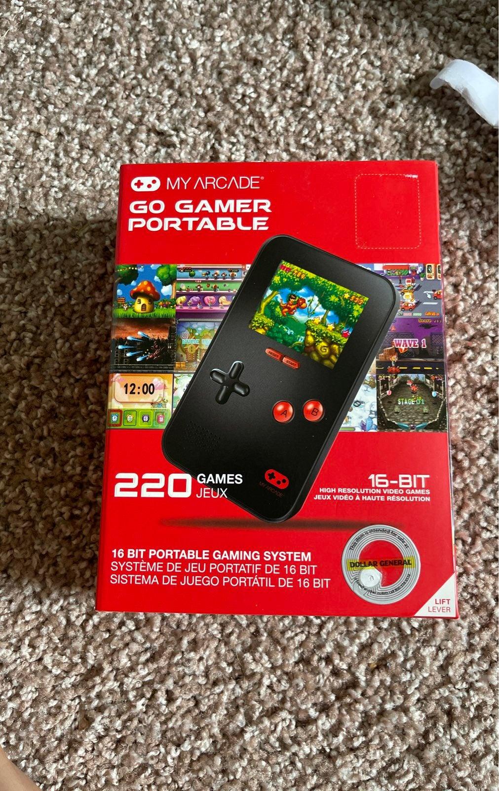 Go gamer portable