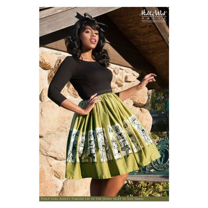 Mary Blair Commuters Jenny Skirt Pinup
