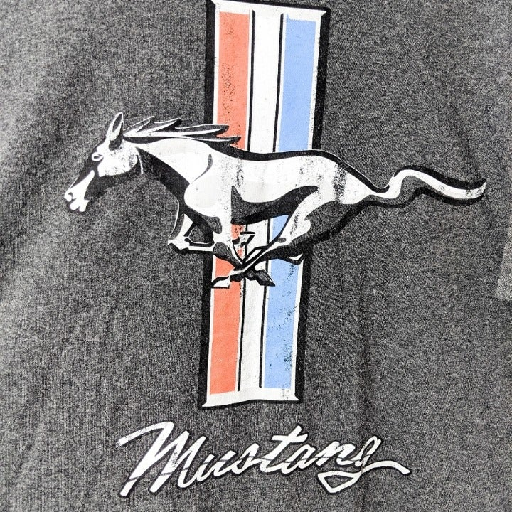 Ford Mustang Shirt XL Retro Distressed