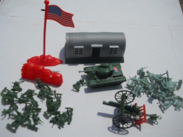 Military Army 52 pc Assort Army Vehicles