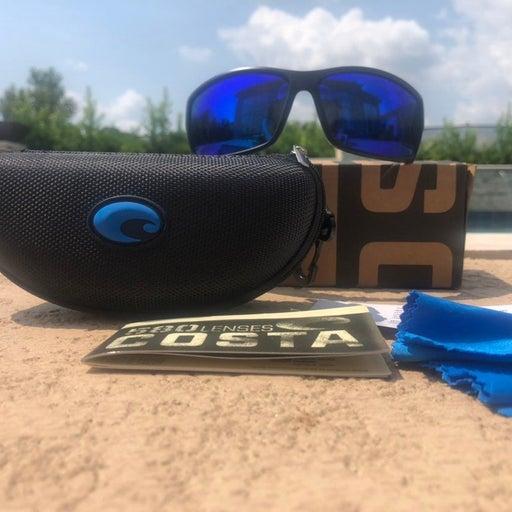 Costa Sunglasses Reefton Black Blue 580p