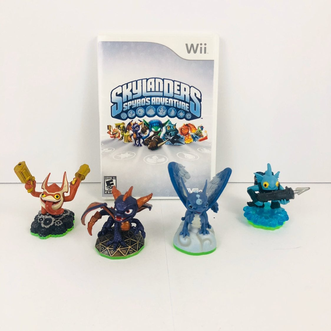 Skylanders Spyro Adventure Wii Game Set