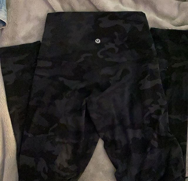 lululemon camo leggings