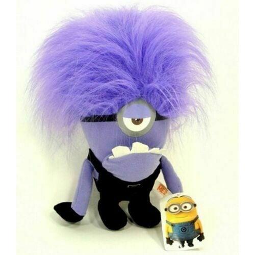 NWT Evil Minions Plush Toy Despicable Me