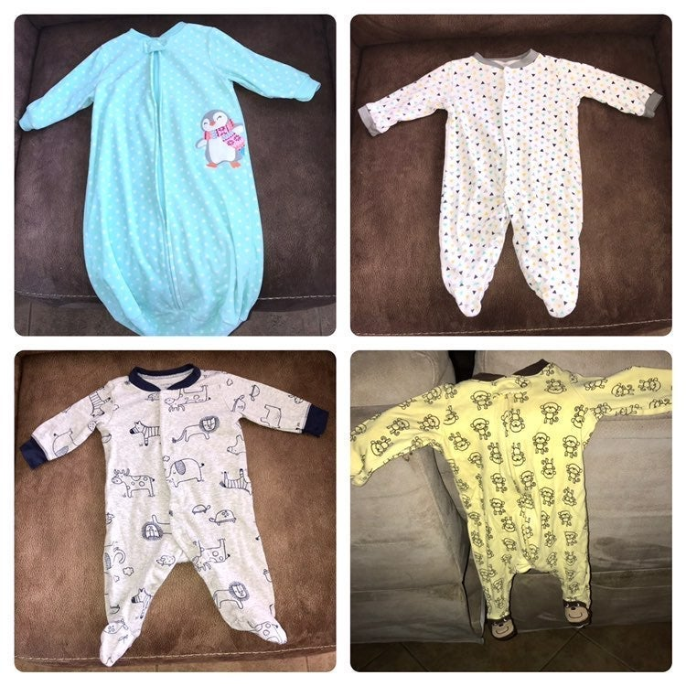 0-3 Month / 3 Month Pajamas