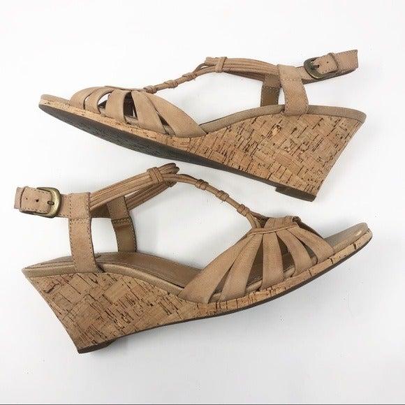 Clark's Multi Strap Leather Sandal 11