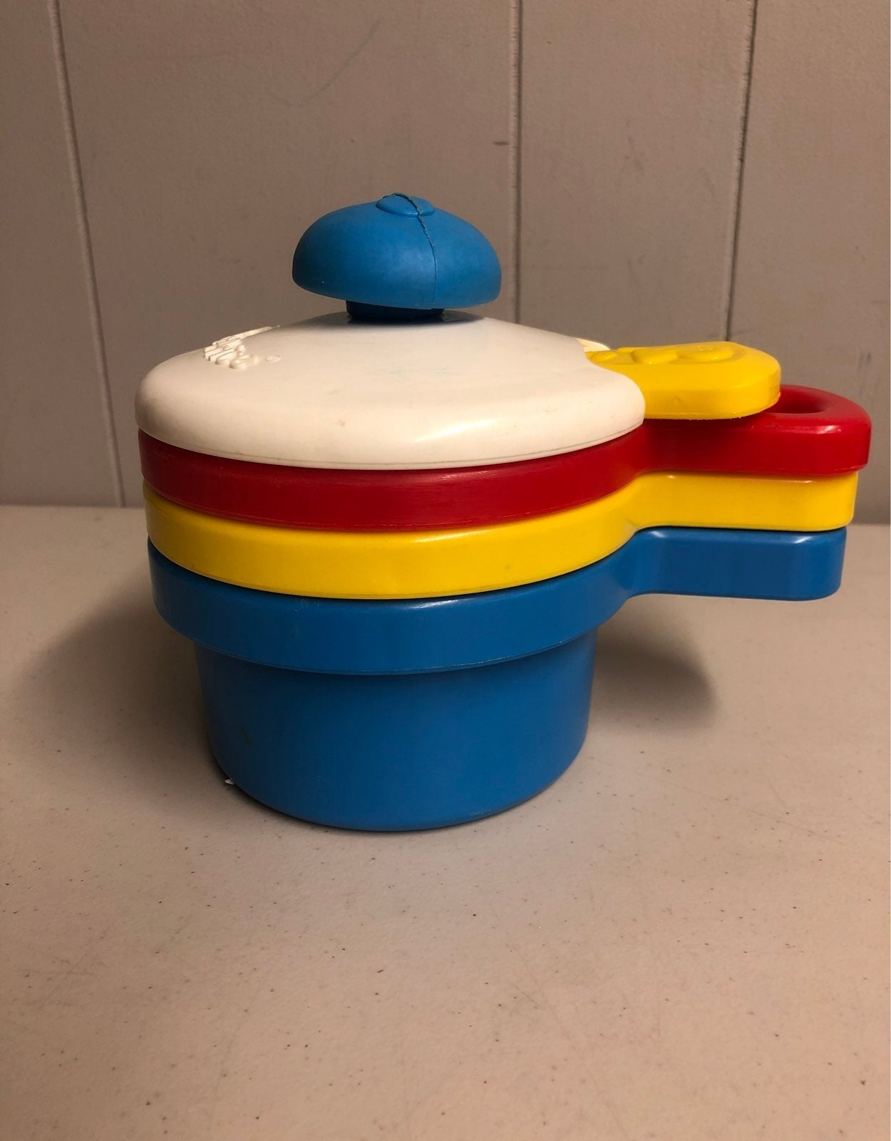 Fisher-Price stacking pots