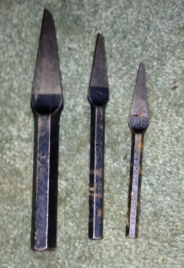 Vintage Set 0f 3 Mayhew Tools