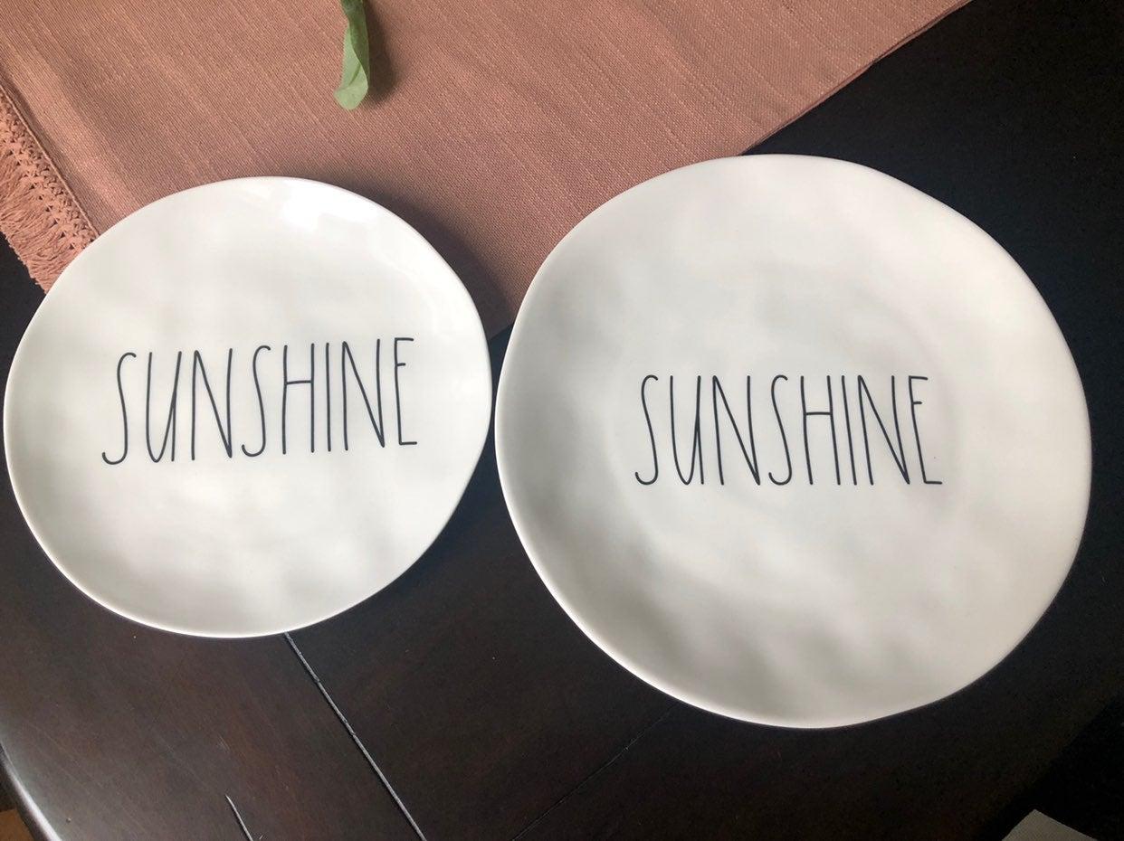 Rae dunn melamine plates