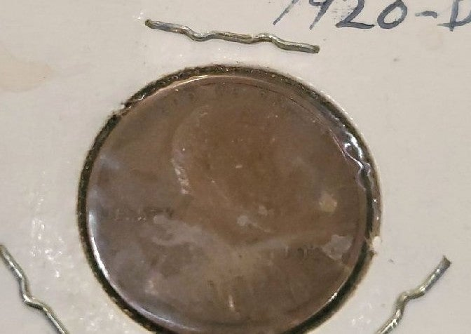 1920 d wheat penny