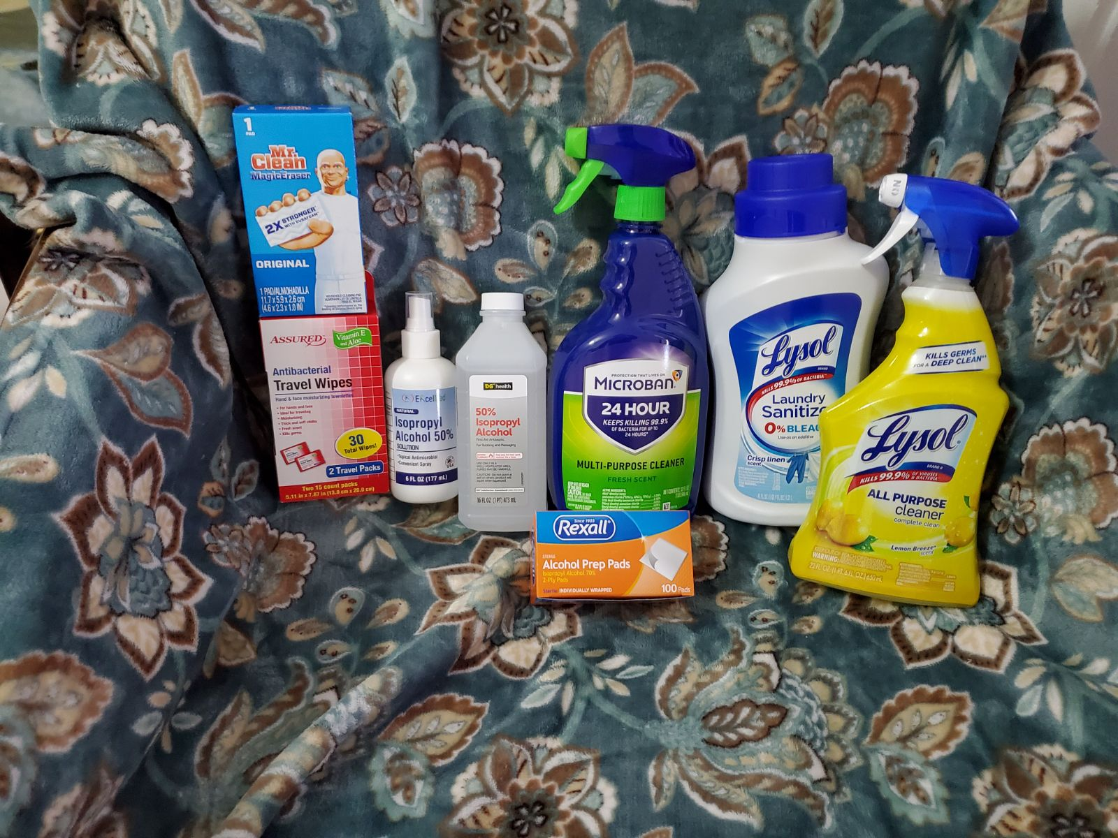 Household spray Bundle of 8 ships fast