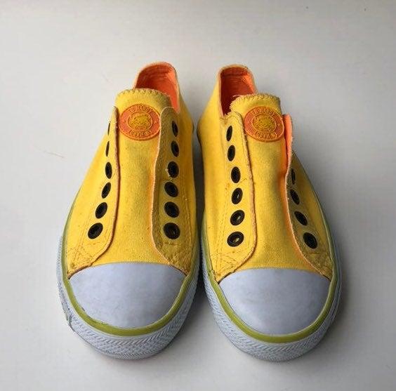 Ed Hardy Womens Slip On No Lace Sneaker