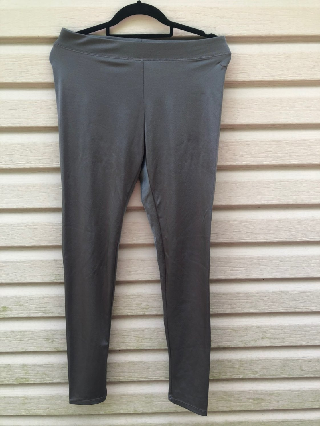 PINK M grey Fashion Leggings