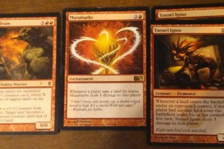 MTG goblin lot red cards