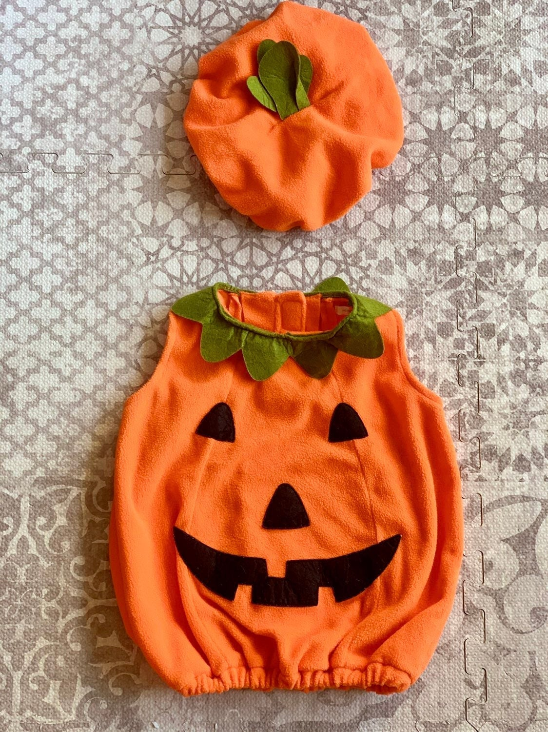 Pottery Barn Kids Pumpkin Costume