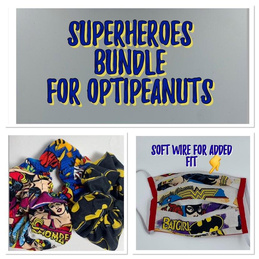 Superhero Set for Optipeanut