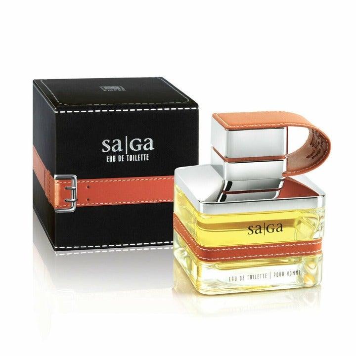 Saga Pour Homme By EMPER 3.4oz/100ml Eau