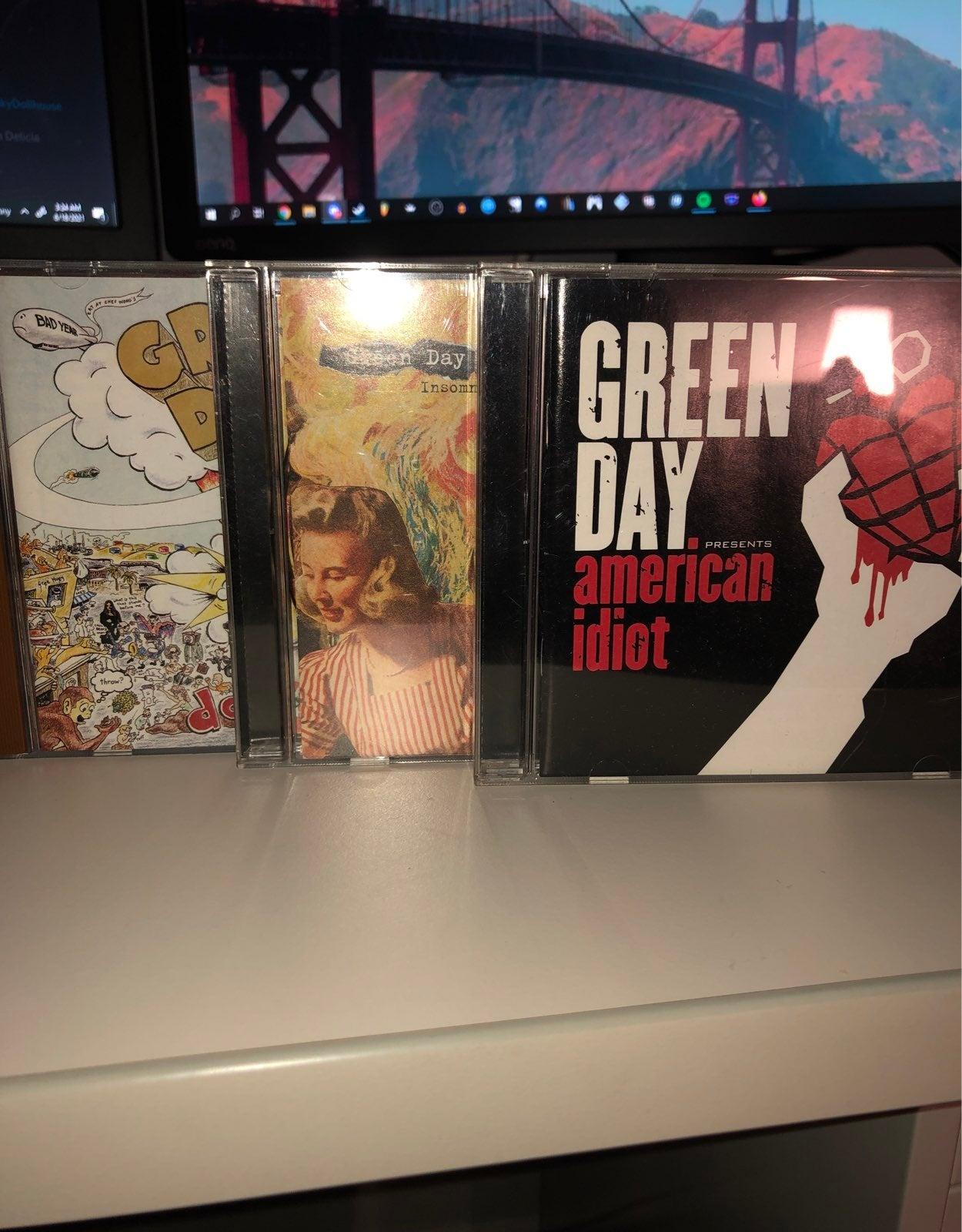 Green Day CD's