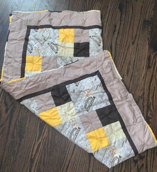 Hogwarts Harry potter Quilt