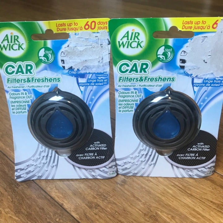 Refresh Your Car! 3ml Car Fresheners