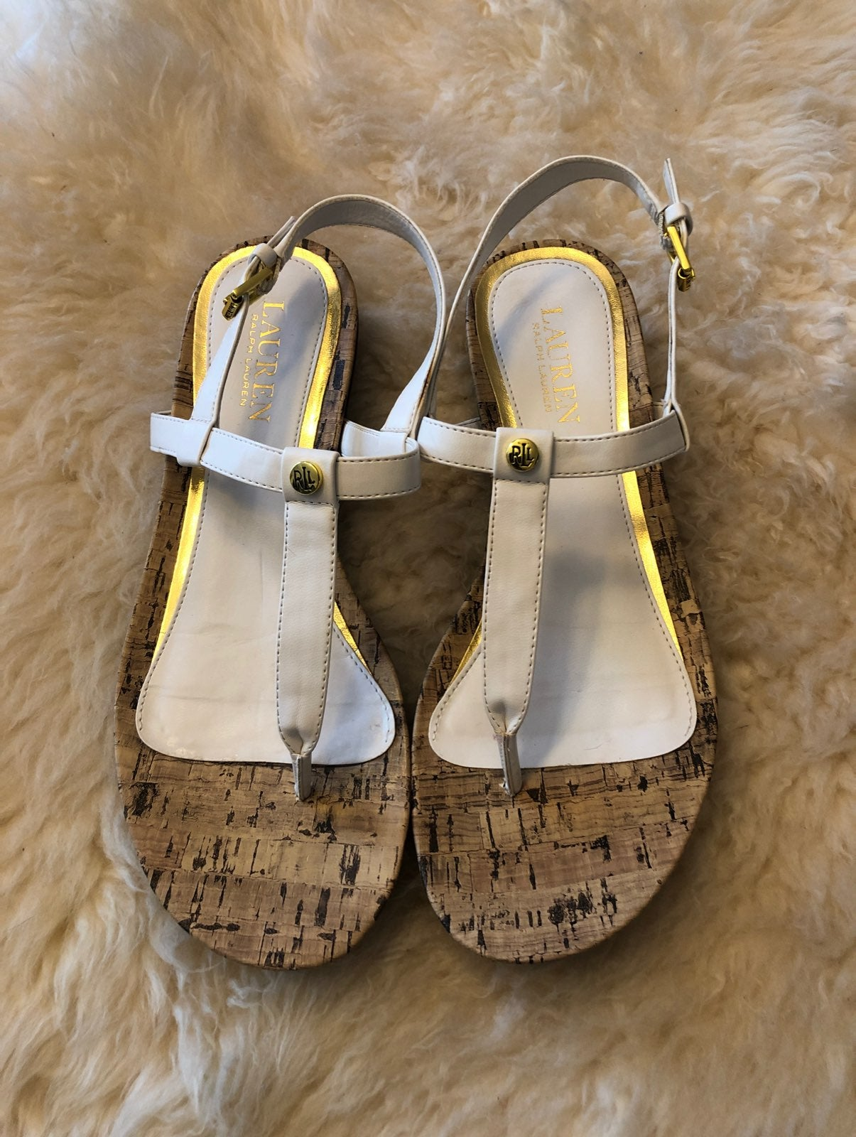Ralph Lauren NWOT sandals size 8