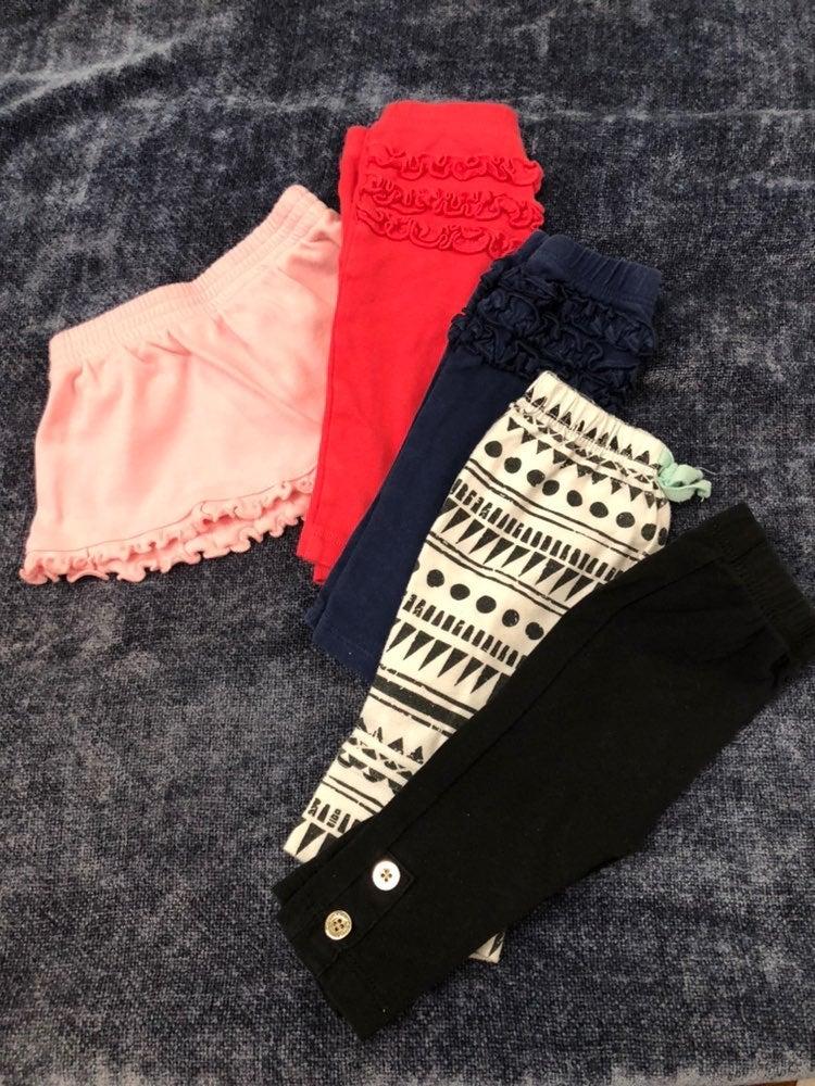 Baby girl pants & skirt