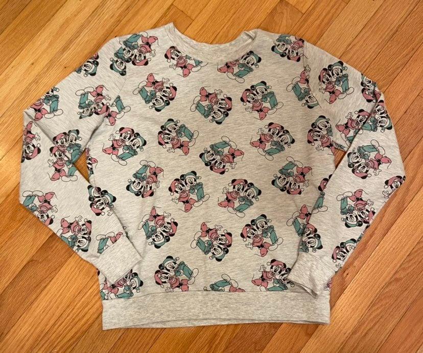 Disney Mickey Mouse Holiday Sweatshirt