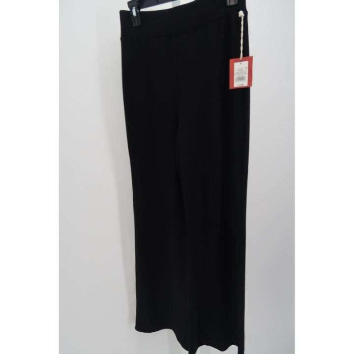 WOMEN'S SOFT WIDE LEG PANTS BLACK M-NEW