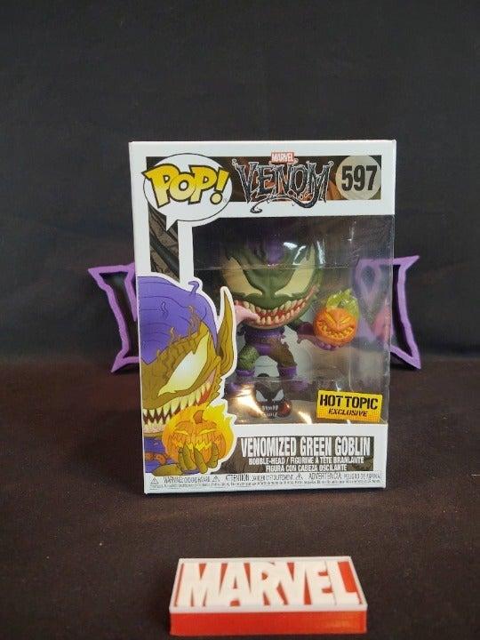 Funko POP! 579 Venomized Green Goblin HT