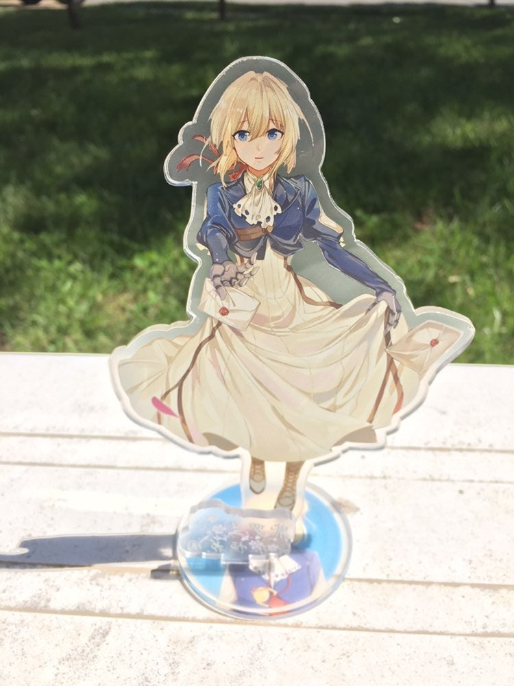 Anime Violet Evergarden 2D Acrylic Stand