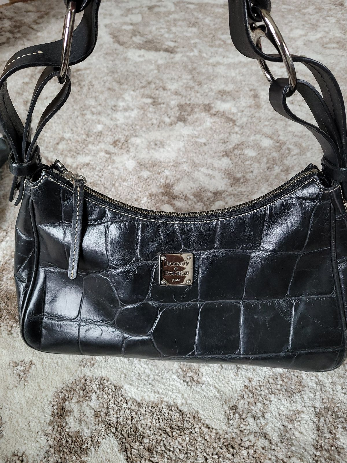 Dooney Bourke black leather