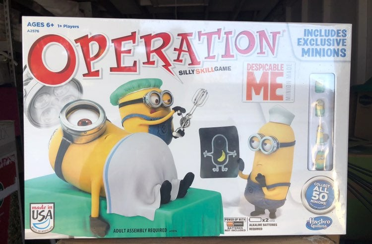 Exclusive Despicable Me Operation Game