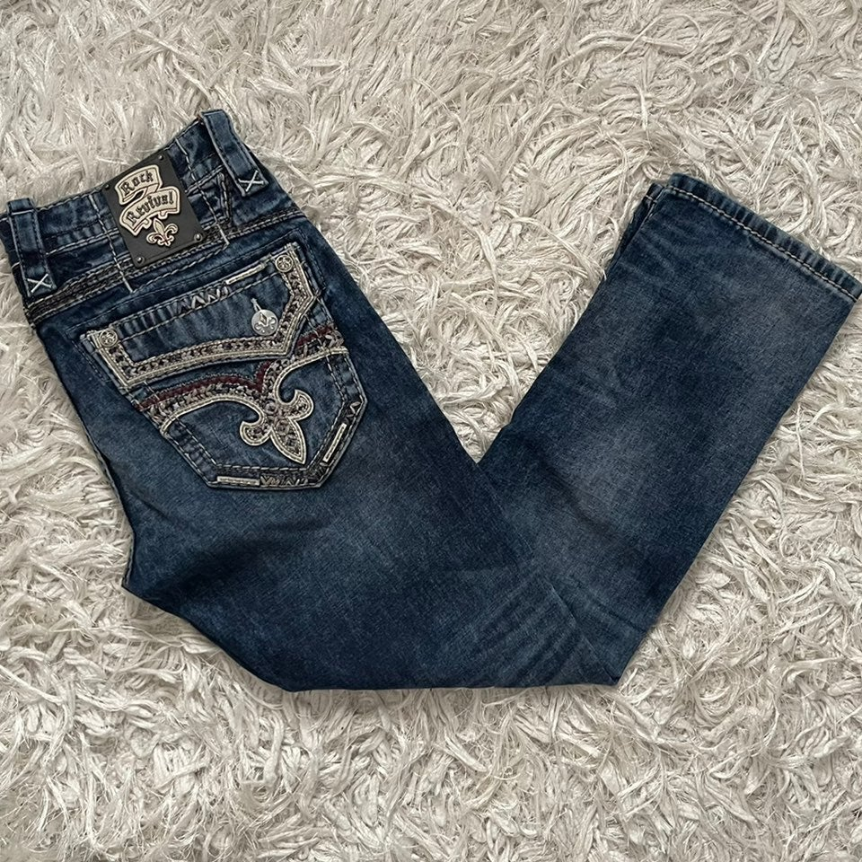 Rock Revival Jeans.   32x30.  LIKE NEW!!