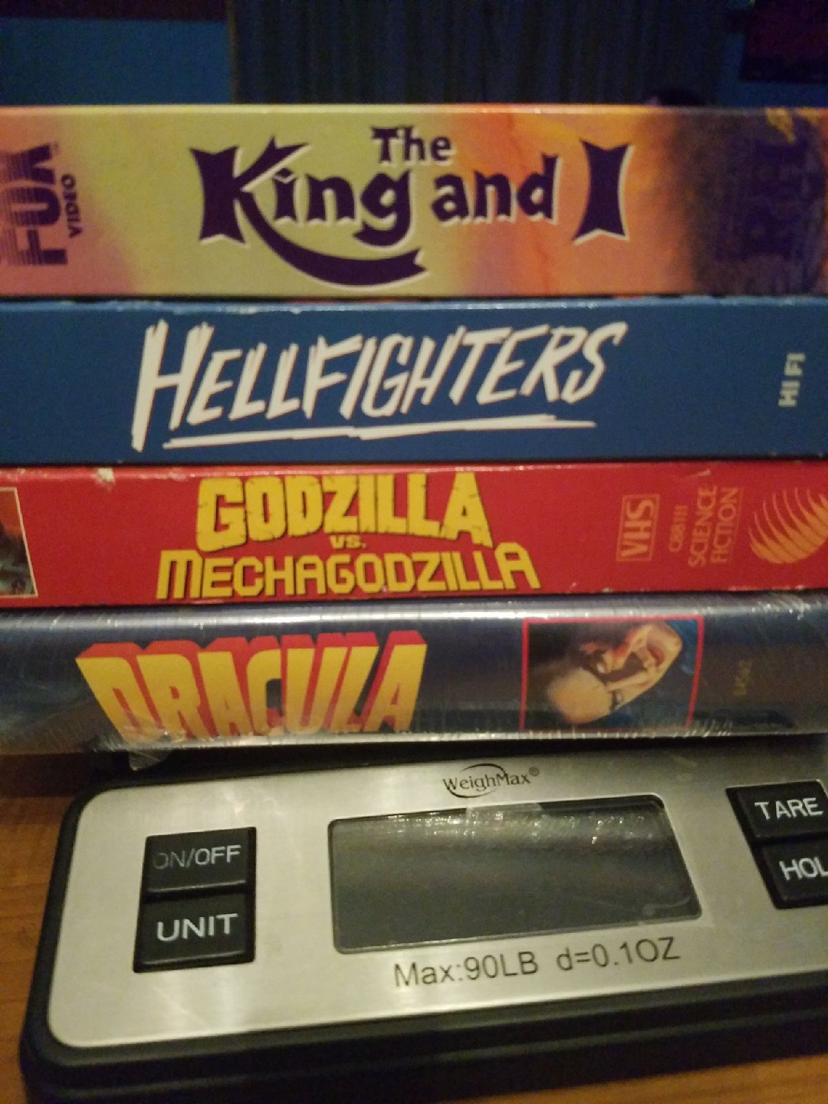 Classic lot of 4 vhs movies