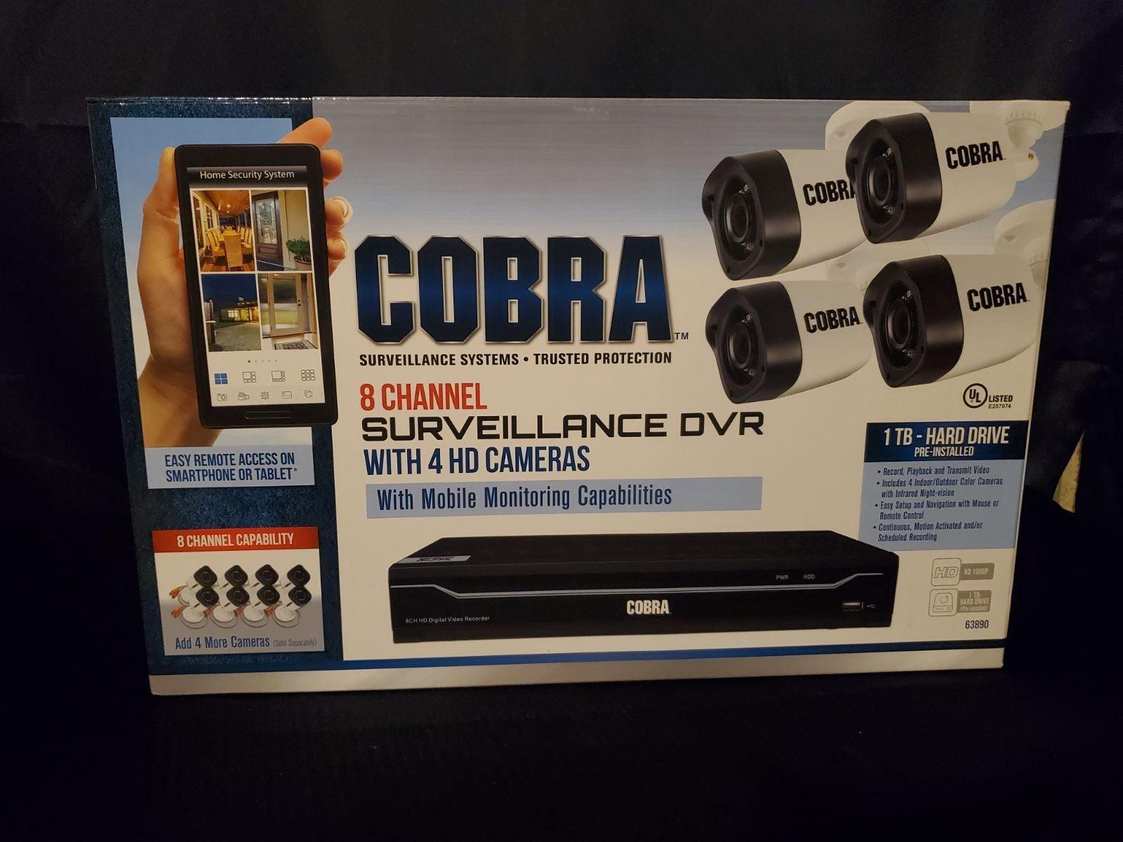 Cobra surveillance system