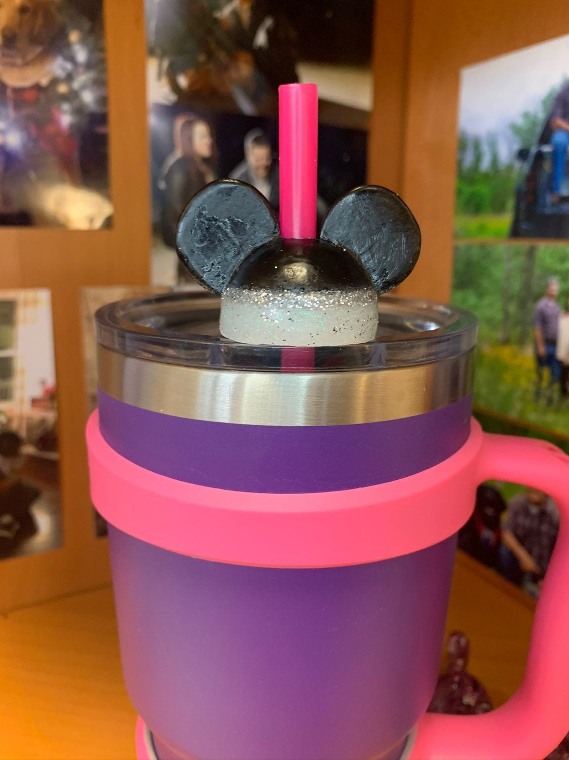 Mickey Mouse Straw Topper