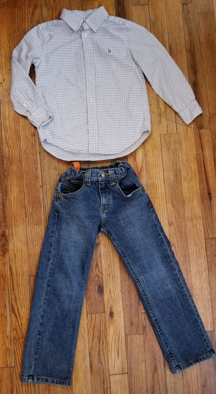 Boys Outfit Size 6 WRANGLER/ RALPH LAURE