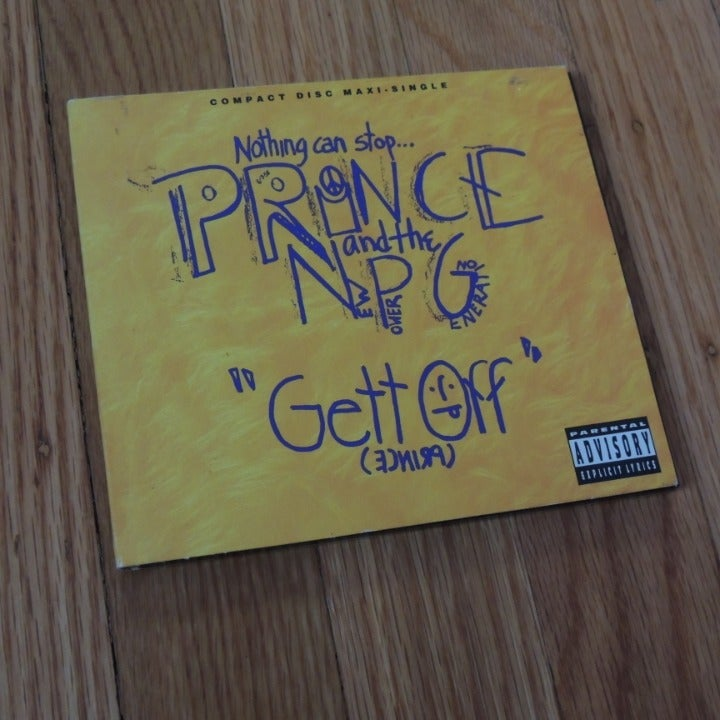 """PRINCE & THE NPG """"Gett Off"""" OUT OF PRINT"""
