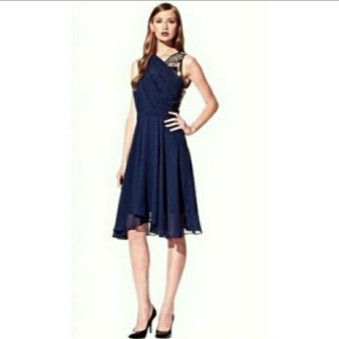 3.1 Phillip Lim Target Navy Sequin Dress