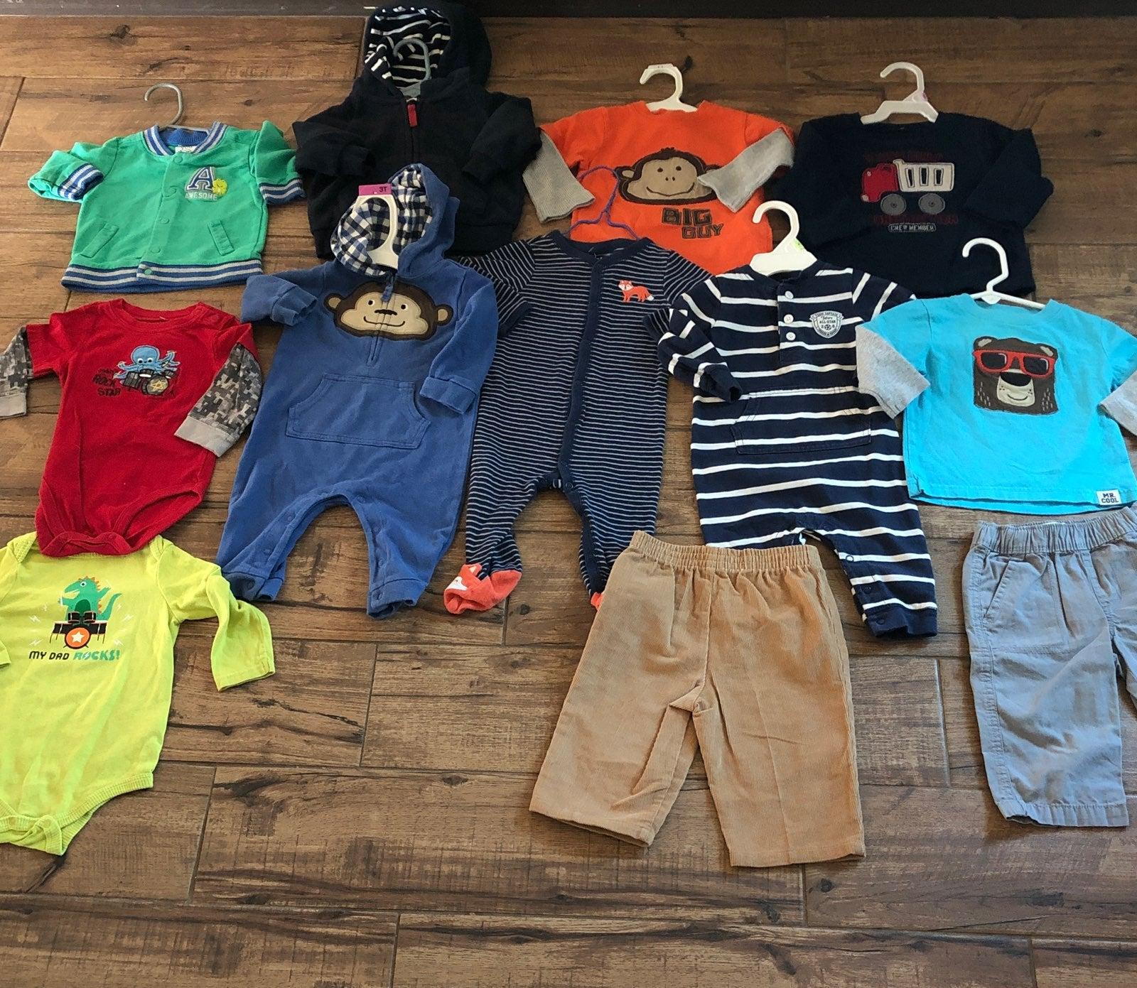 Baby Boy Clothing Lot 9-12M