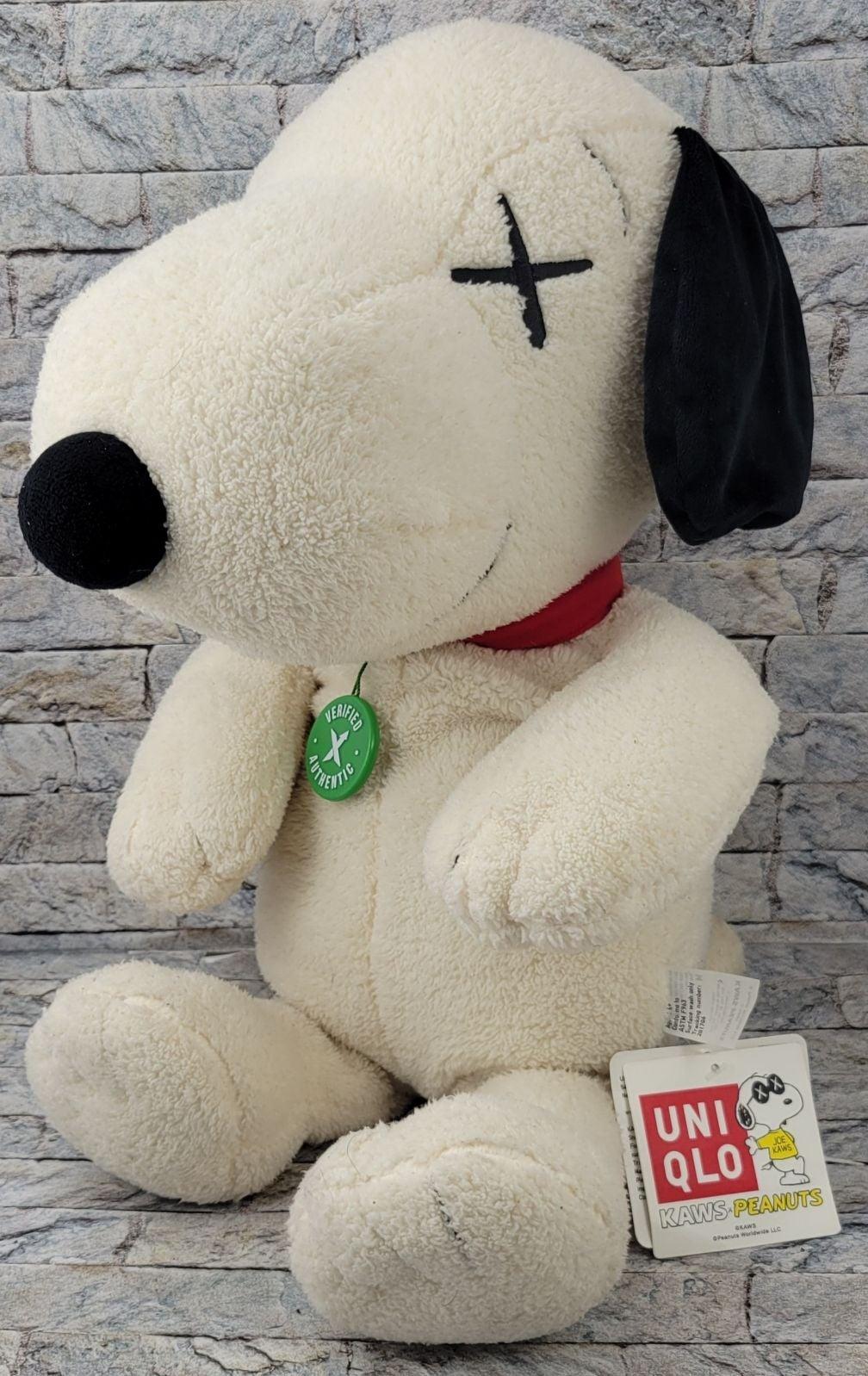 UNIQLO x KAWS Peanuts Snoopy PLUSH TOY