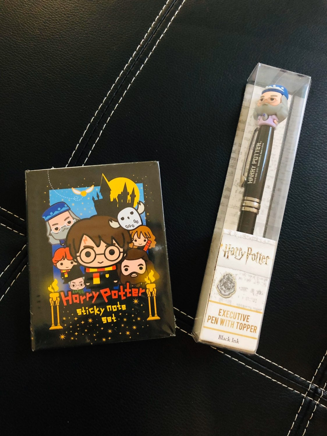 Harry Potter Sticky Notes and Pen W/Topp