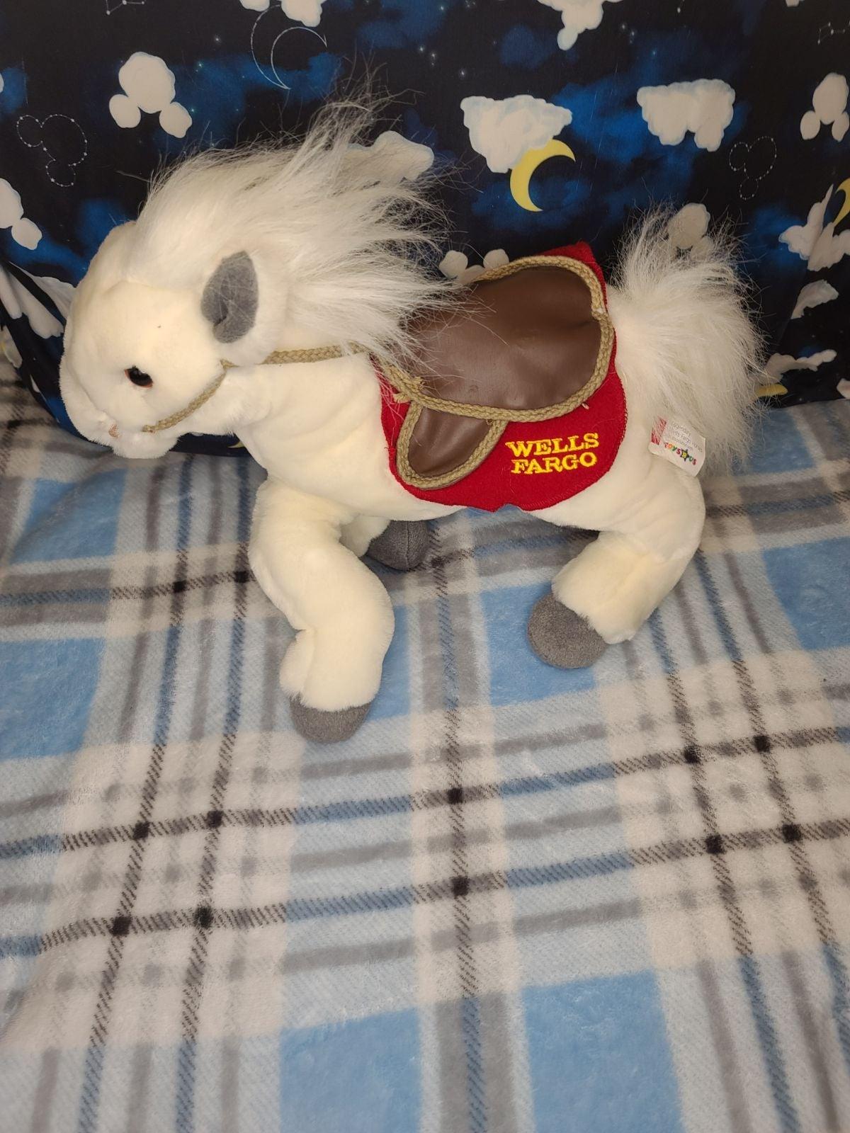 Wells Fargo Legendary Pony Plush