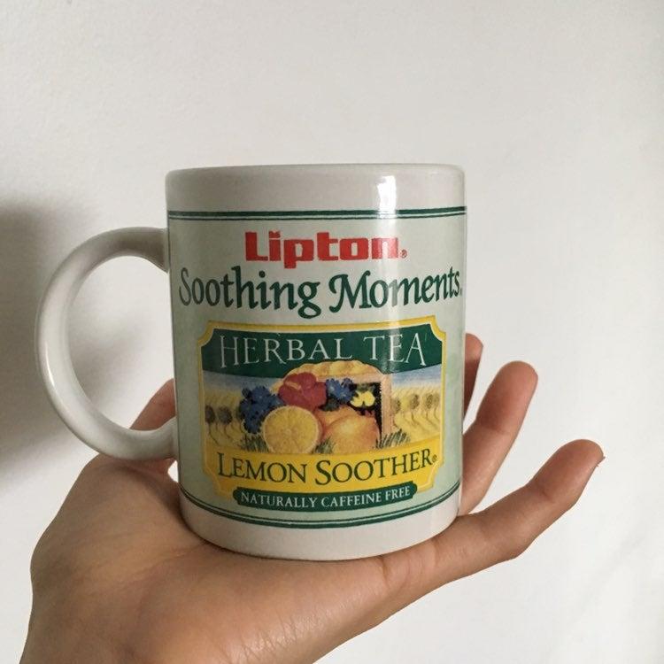 Lipton Soothing Moment Herbal Tea Mug