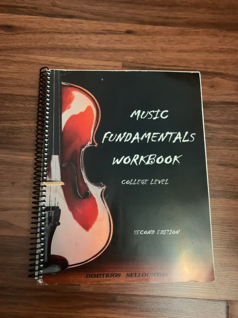 Music foundation workbook