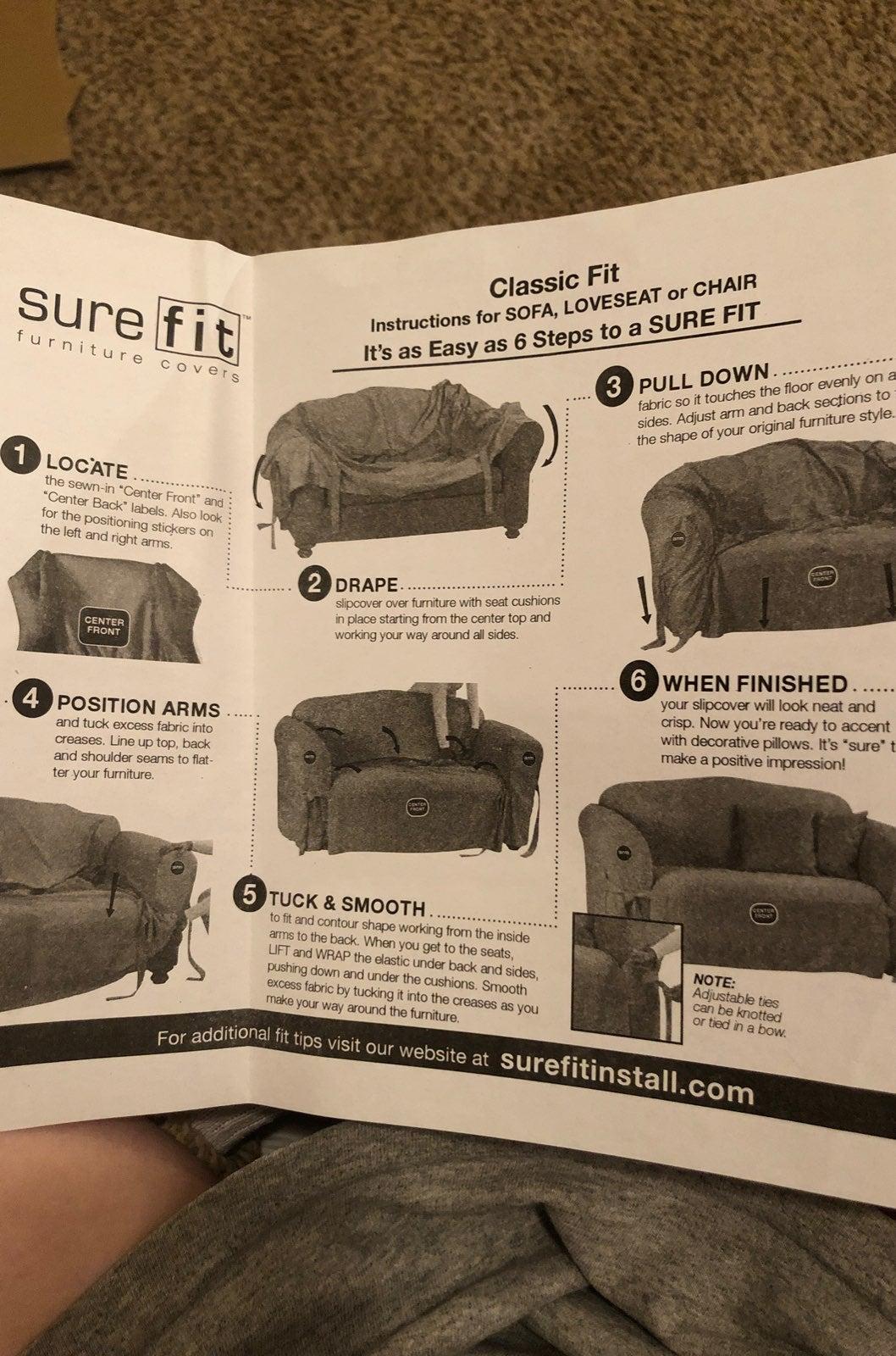 surefit sofa cover