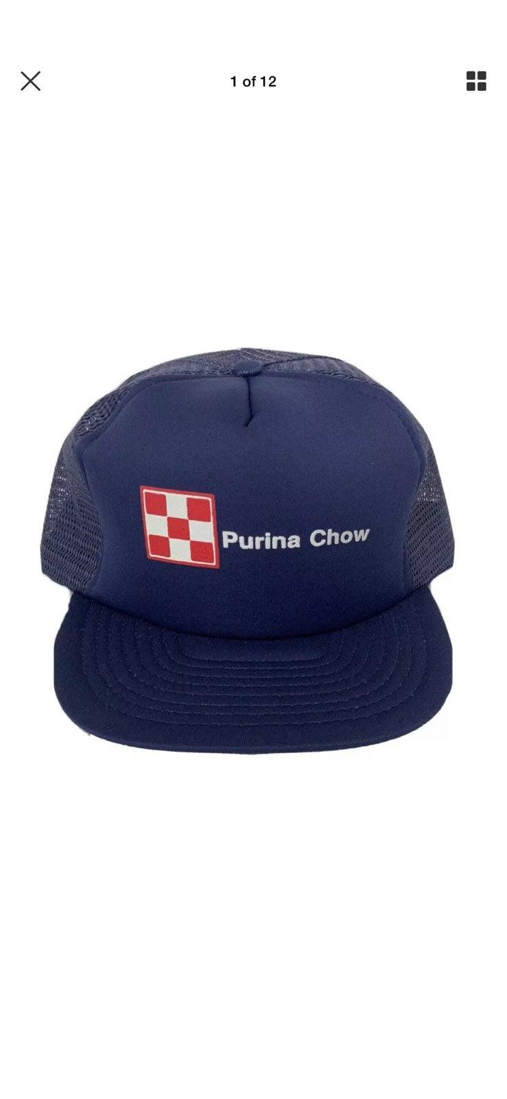 Vtg Purina Chow Trucker Hat KENDA